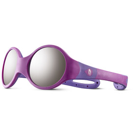 Julbo Loop M Spectron 4 Sunglasses Kids rosa/purple/grey flash silver